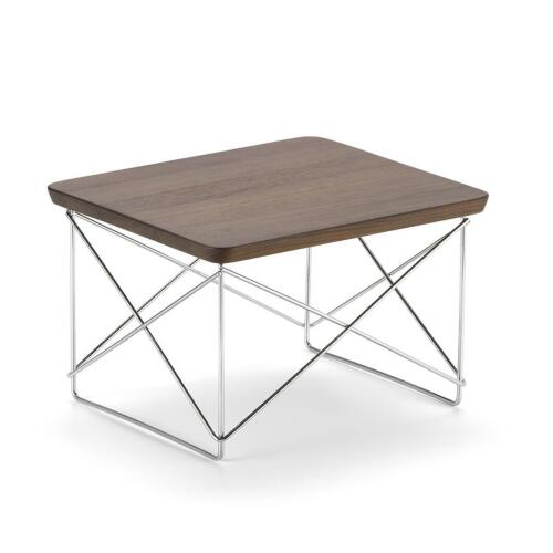 Vitra Occasional Table LTR Walnuss Chrom
