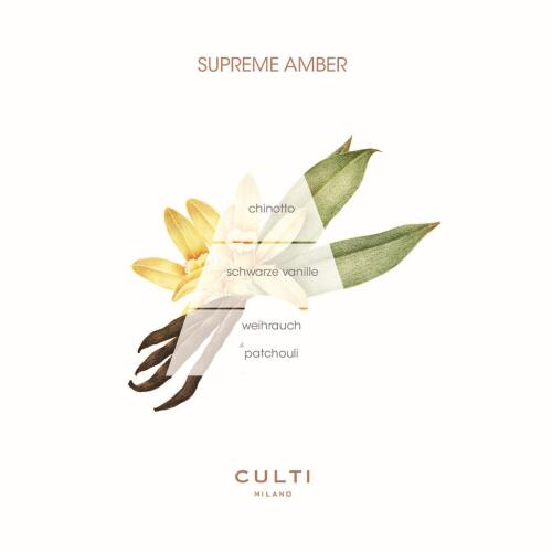 Culti Decor Diffuser Supreme Amber 500 ml